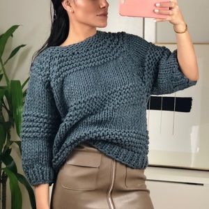 NEW Relaxed Chunky Knit Relaxed Sweater